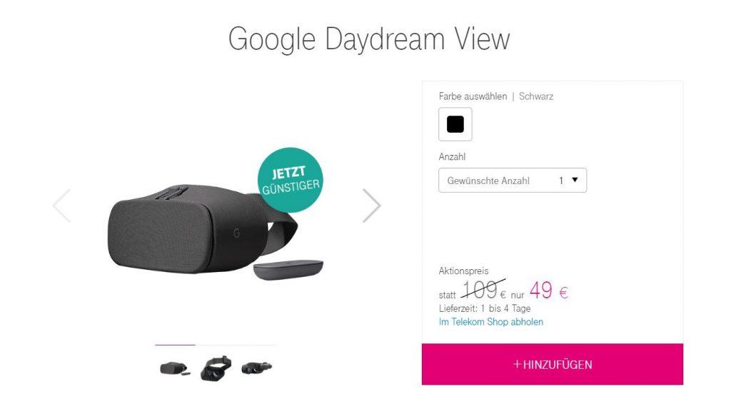 google daydream view bei telekom