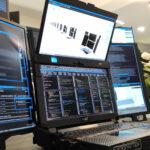 Die sieben Bildschirme Monster Notebook von Expanscape